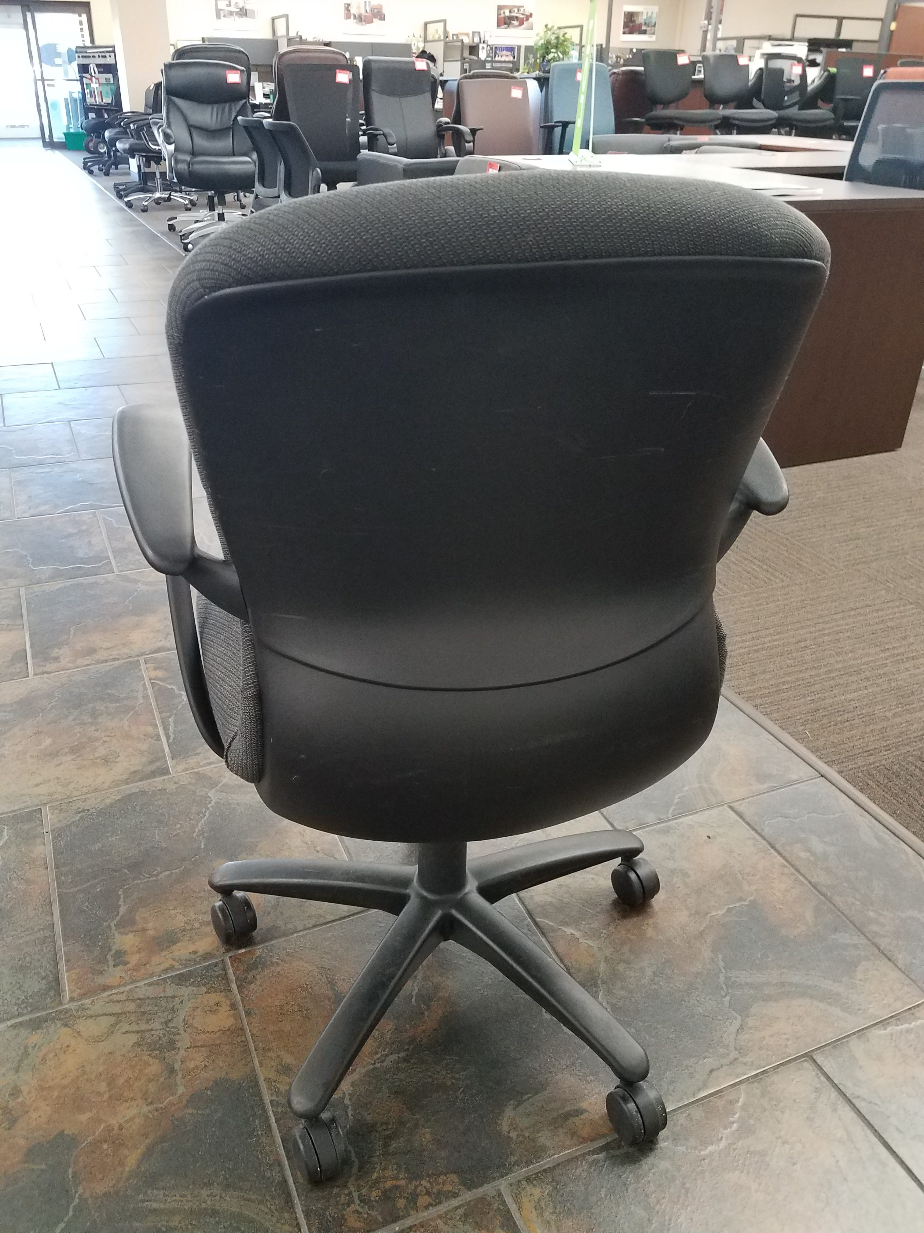 Haworth Improv Task Chair w ArmsUsed  Welter Storage