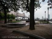 NYC - Blickrichtung aus dem Film