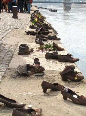 Mahnmal für die Opfer des Budapester Gettos