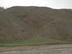 Erosionsschutzversuch