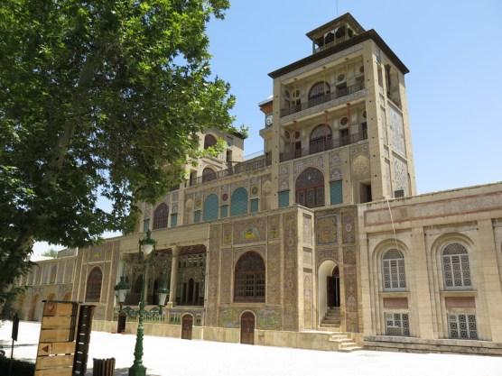Golestan Palast nur für Zeremonien benutzt