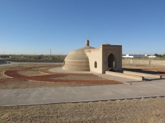 Restauriertes Wasserreservoir