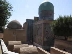 HIntereingang zum Mausoleumkomplex
