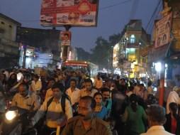 Crowdy in Varanasi