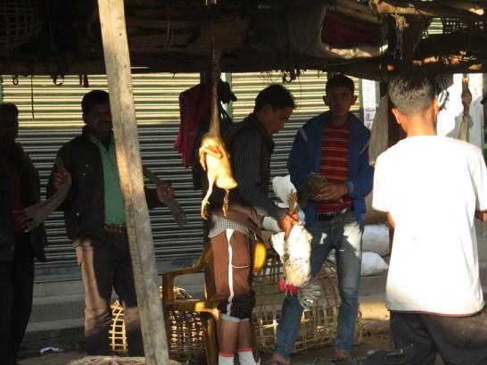 Geflügelmarkt in Imphal