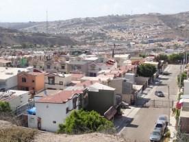 Wohnsiedlungen bei Tijuana