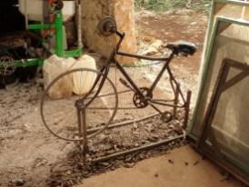 Fahrradschleifmaschine
