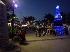 Weihnachtsmarkt in Playa del Carmen