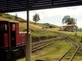 zweigleisiger Bahnhof