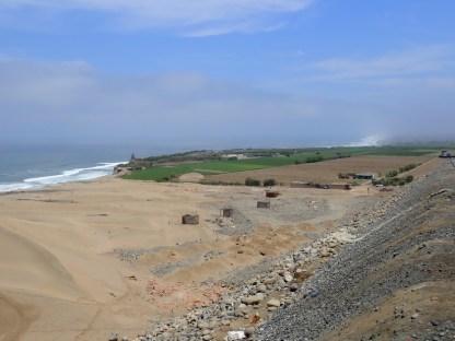Häuschen an der Steilküste