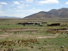 Hof auf dem Altiplano