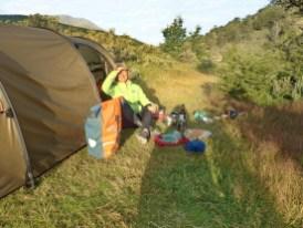 der südlichste Campingplatz