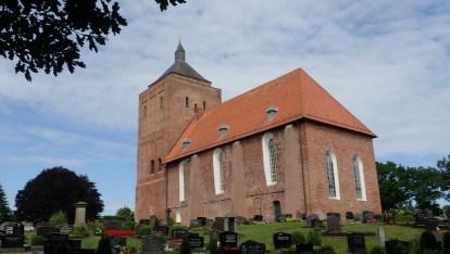 Ostfriesische Backsteinkirche