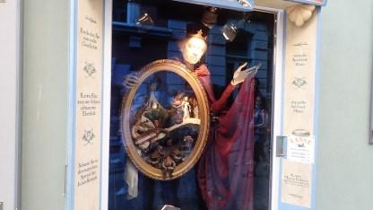 Theaterkunst im Schaufenster