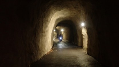 Tunnel nur für uns!
