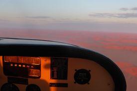 Namibia-Flug-Namib-Cockpit