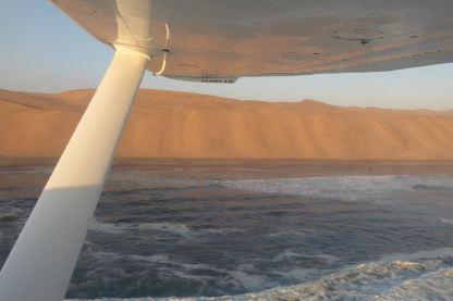 Namibia-Flug-Namib-Meer