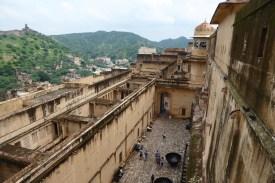 Indien_Jaipur_Amber_Mauer