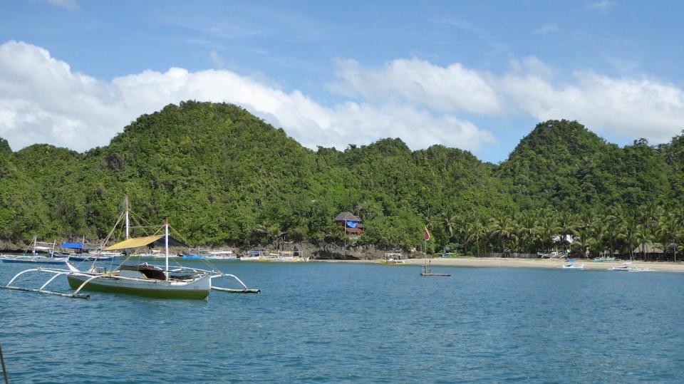 Philippinen Negros Strand Boot | aufmerksam reisen