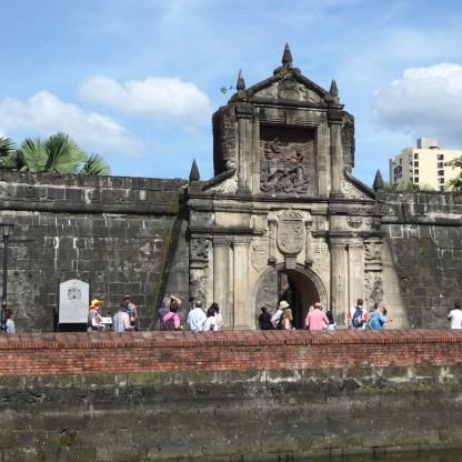 Eingang zu Intramuros, dem alten Teil von Manila
