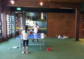 Australien-LibraryDock-Tischtennis