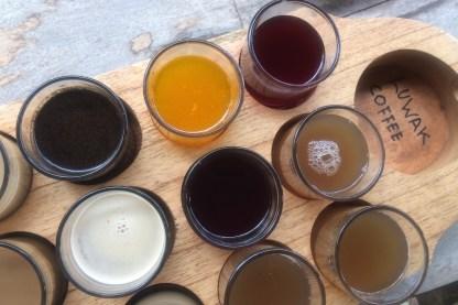 Bali-Kaffeeplantage-Verkostung
