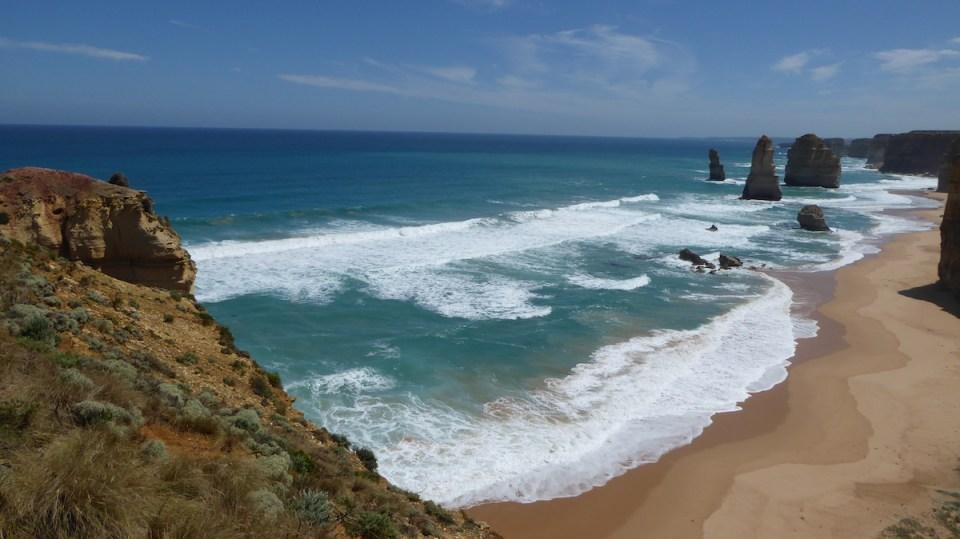 Australien GreatOceanRoad TwelveApostles Strand | aufmerksam reisen