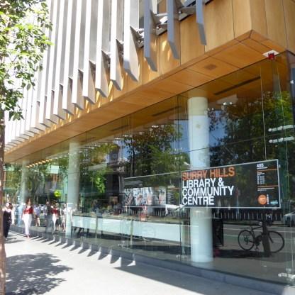 Australien-Sydney-Brickfield-Hill-Bibliothek