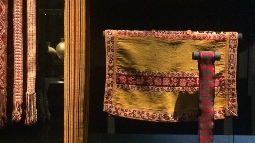 Chile-Santiago-MuseoPrecolombino-Textilien