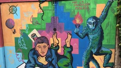 Chile-Valparaiso-Mural-educacion