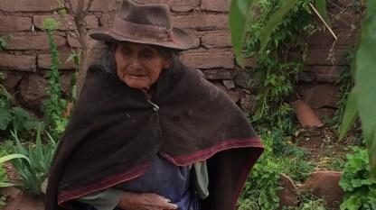 Bolivien-Frau-am-Land