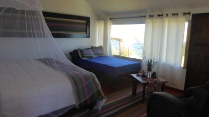 Peru-Titicacasee-Lodge-Bett