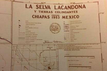 Mexiko-NaBolom-Karte-Lacandona