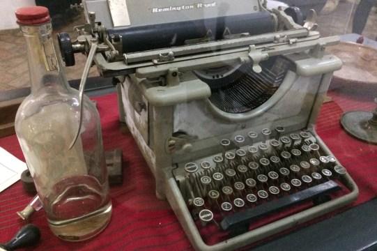 Mexiko-NaBolom-Schreibmaschine