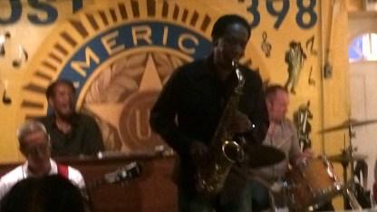 USA-NewYork-VeteransClub-Saxophonist