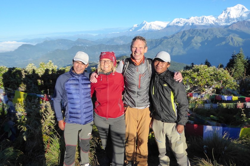19 Monate auf Weltreise: Trekkingtour in Nepal mit Besteigung des Poon Hill