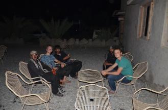 Besuch von den Levies im Hotel