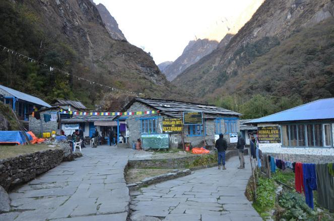 Im Himalaya Camp