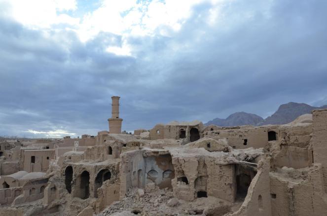 Verfallene Siedlung in Kharanagh