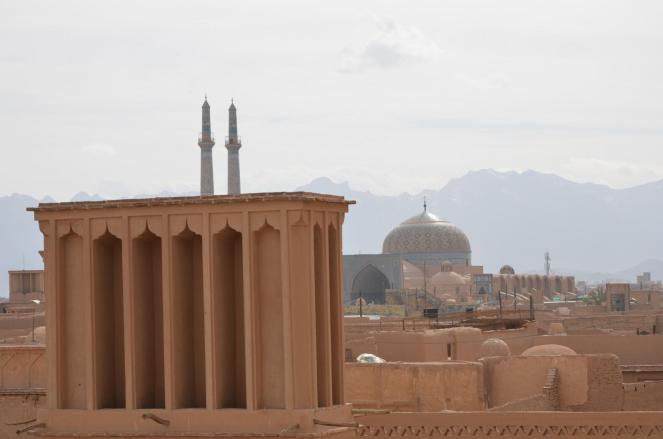 Windturm in Yazd
