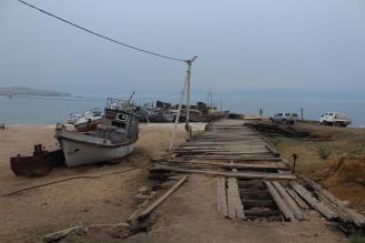 Überbleibsel der Fischereiindustrie