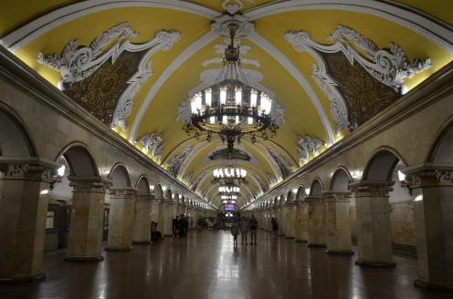 Prunkvolle U-Bahn Stationen