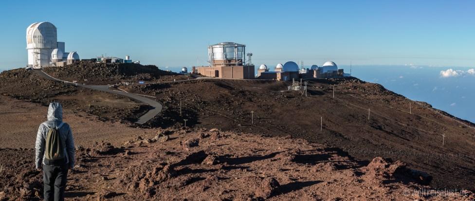 Haleakala - Observatorium (Panorama)