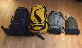 Voila! Oto nasz cały bagaż na następne 6 mieśięcy :)