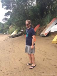 Am Strand von Rocky Bay