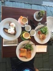 Unser Frühstück im M Deli Cafe