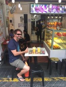 Die Saftbar in Chinatown