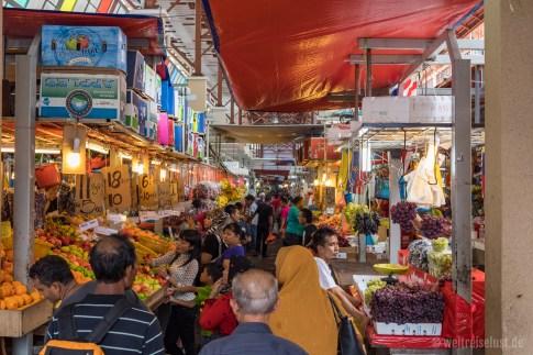 "Der große Markt ""Chow Kit"" in Kuala Lumpur"
