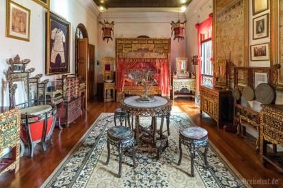 Man bekommt hier einen sehr guten Eindruck vom Leben der reichen Familien im alten Georgetown.