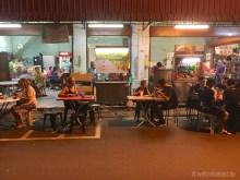 Abendessen am Streetfoodmarkt